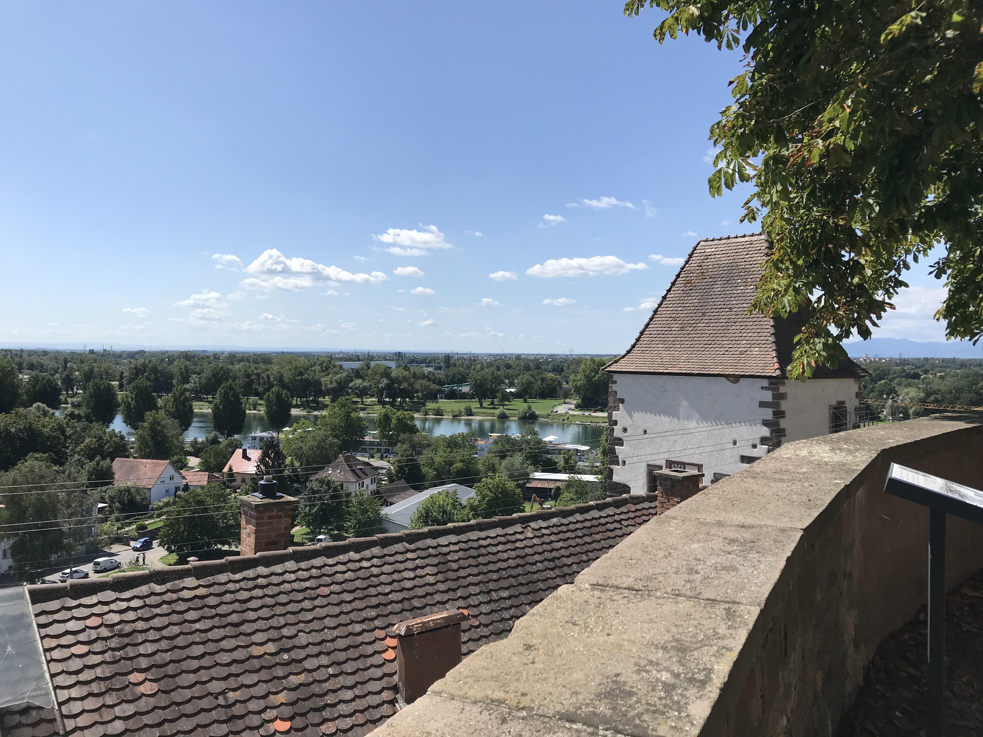 Breisach Aussicht vom Schlossberg