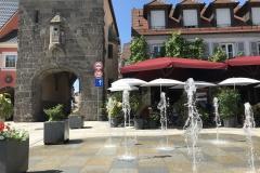 Breisach Marktplatz und Tor